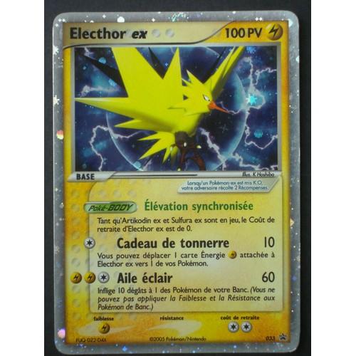 Pokemon promo francaise black star nintendo 2me s rie n - Carte pokemon electhor ex ...