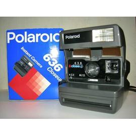 polaroid 636 instantan pas cher achat et vente rakuten. Black Bedroom Furniture Sets. Home Design Ideas