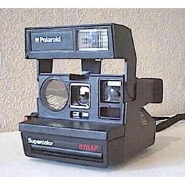 polaroid supercolor 670 af appareil photo argentique pas cher. Black Bedroom Furniture Sets. Home Design Ideas