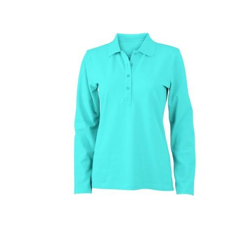 f919857b573 polo femme manches longues bleu pas cher ou d occasion sur Rakuten