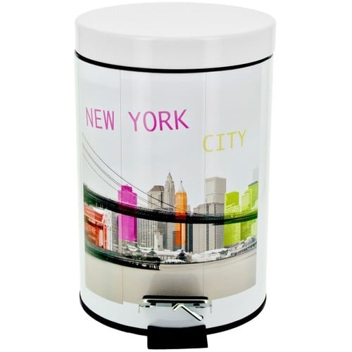 Poubelle new york pas cher ou d 39 occasion sur priceminister for Poubelle new york chambre