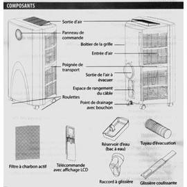 climatiseur mobile proline cl 300