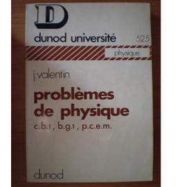 Problemes De Physique de Valentin J