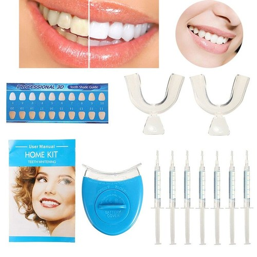 professionnel kit blanchiment blanchisseur dentaire dents blanche soin gel lampe pas cher ou d. Black Bedroom Furniture Sets. Home Design Ideas