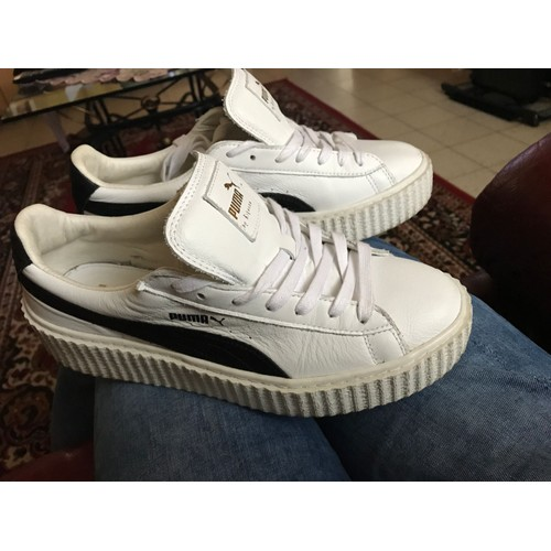 puma creepers beige occasion