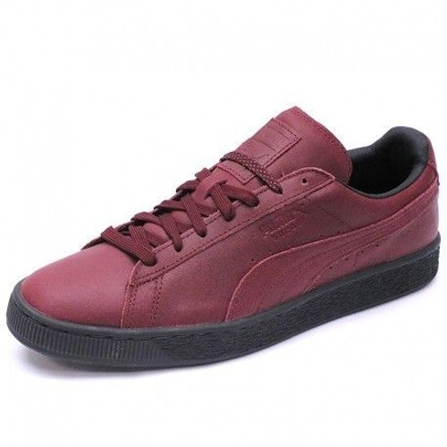puma suede rouge homme