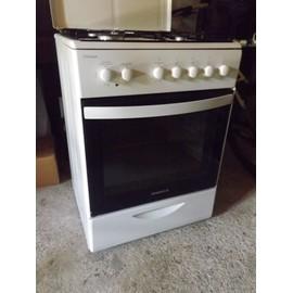 rosieres rcg 621 rb cuisini re gaz blanc achat et. Black Bedroom Furniture Sets. Home Design Ideas