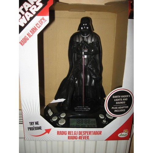 radio reveil dark vador star wars neuf et d 39 occasion. Black Bedroom Furniture Sets. Home Design Ideas