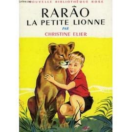 Les LIVRES de la Bibliothèque ROSE - Page 6 Rarao-La-Petite-Lionne-Livre-876293405_ML