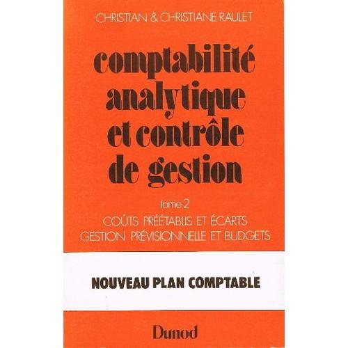 comptabilite analytique et controle gestion
