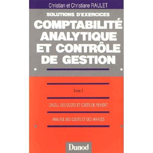 Solutions D'exercices Du Cours De Comptabilité Analytique ...