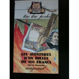 Aventures D'un Billet De 100 Francs de Renaudin