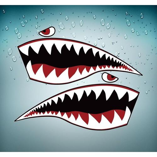 requin autocollant achat et vente neuf d 39 occasion sur priceminister rakuten. Black Bedroom Furniture Sets. Home Design Ideas
