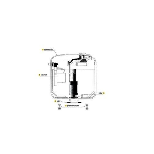 reservoir wc pas cher ou d 39 occasion sur rakuten. Black Bedroom Furniture Sets. Home Design Ideas