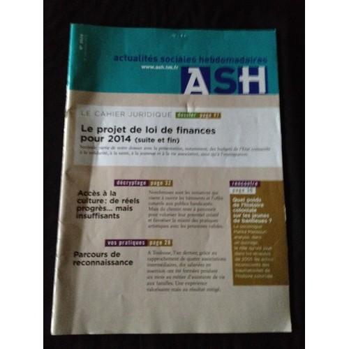 Revue Actualit�s Sociales Hebdomadaires - ASH