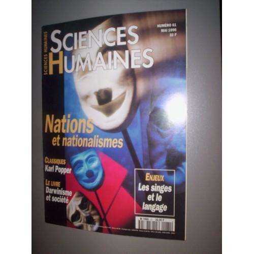 Revue histoire sciences humaines for Revue sciences humaines