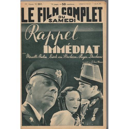Revue Le Film Complet