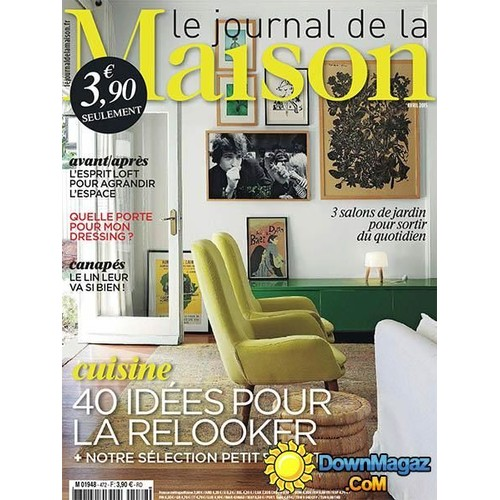 revue le journal de la maison. Black Bedroom Furniture Sets. Home Design Ideas