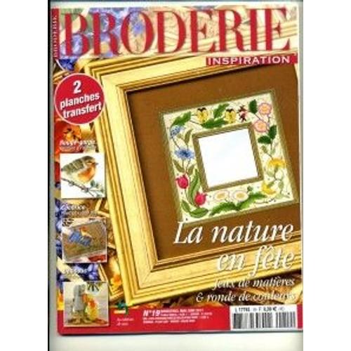 Revue Loisirs - Bricolage - Broderie Inspiration