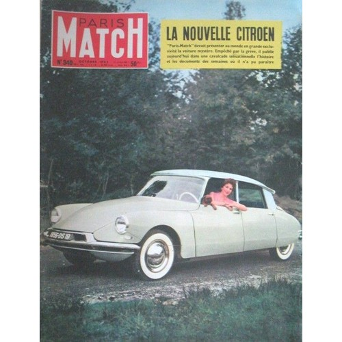revue paris match 6 septembre 2001