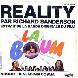 reality b o du film la boum richard sanderson 45 tours. Black Bedroom Furniture Sets. Home Design Ideas