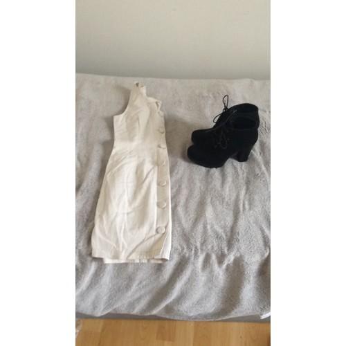 417889b03700b5 robe blanche pimkie pas cher ou d'occasion sur Rakuten