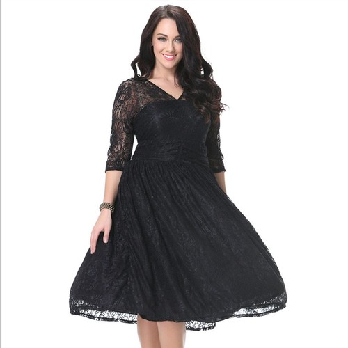 Robe cocktail mariage taille 46