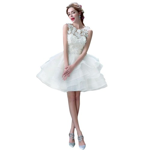 Robe cocktail mariee courte pas cher