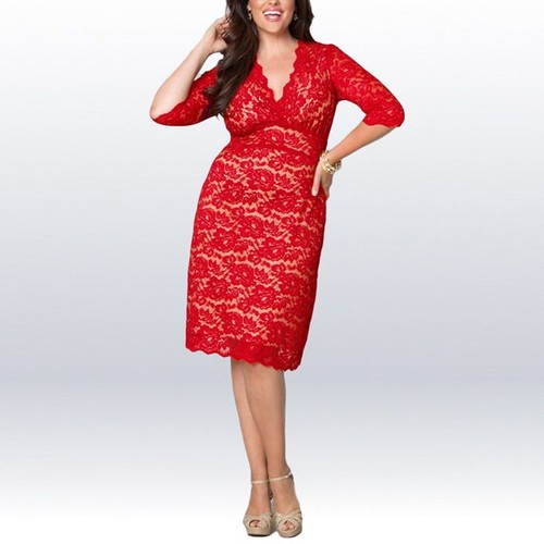 2838605ba5fe02 robe soiree col dentelle pas cher ou d'occasion sur Rakuten