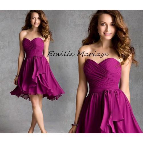 92eedba1498 robe soiree mousseline violet pas cher ou d occasion sur Rakuten
