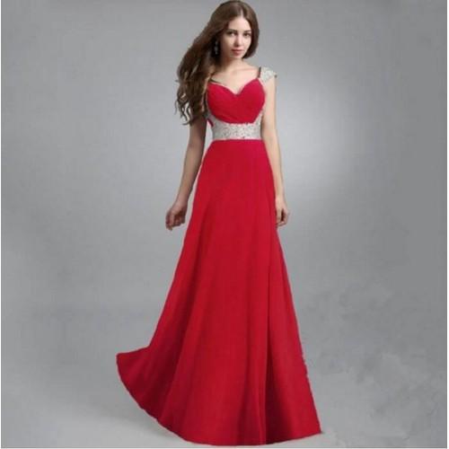 55b01cefb2b robes rouge soiree pas cher ou d occasion sur Rakuten