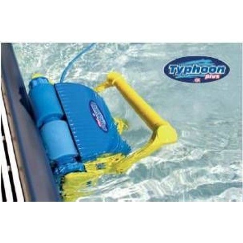 Robot autonome piscine typhoon plus t l commande pas cher for Robot piscine autonome