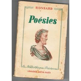 Poesies de pierre ronsard