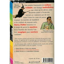 ... 2   Harry Potter Et La Chambre Des Secrets De J.k Rowling Format.  Favoris Alerte Prix. Partage
