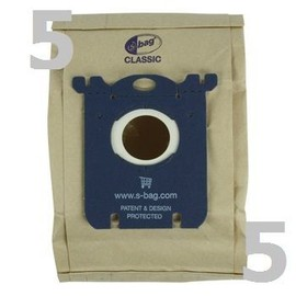 sac aspirateur s bag classic pour electrolux philips aeg. Black Bedroom Furniture Sets. Home Design Ideas