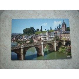 Saint Geniez D'olt Ref 12/136 Pont Vieilles Maisons. Lot