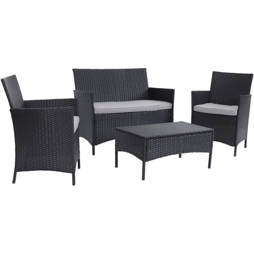 acheter salon de jardin resine tressee pas cher ou d 39 occasion sur priceminister. Black Bedroom Furniture Sets. Home Design Ideas