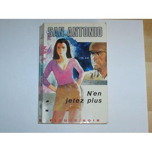 San Antonio N\'en Jetez Plus de San-Antonio - Achat vente neuf occasion