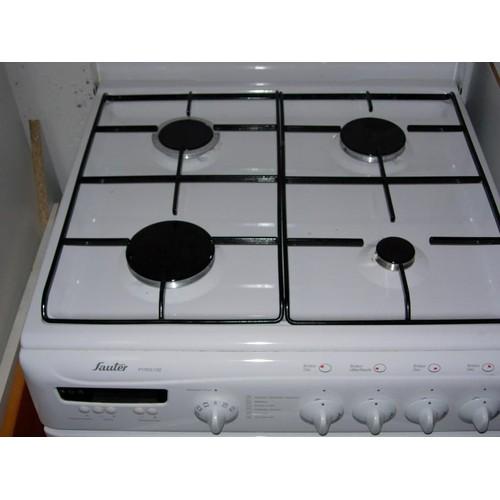 Sauter GPB Cuisinière Mixte Achat Et Vente - Cuisiniere mixte 4 feux gaz four electrique pyrolyse pour idees de deco de cuisine