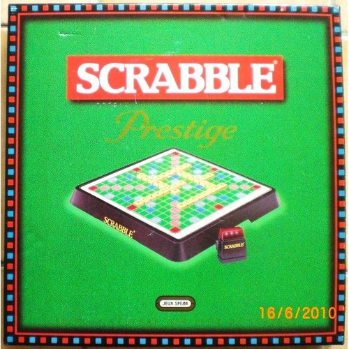 scrabble prestige achat vente de jeux de soci t. Black Bedroom Furniture Sets. Home Design Ideas