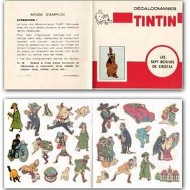 Serie De 16 Livrets De D�calcomanies Tintin (16 Titres)
