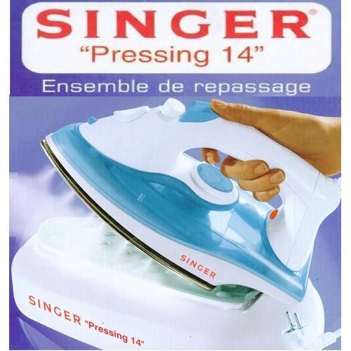 Singer pressing 14 fer repasser vapeur 1600w pas cher - Fer a repasser pressing ...