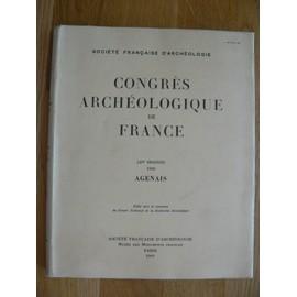 Congres Archeologique De France 127e Session 1969 Agenais de Societe Francaise D'archeologie