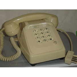 offer buy  Socotel S Telephone a touche beige Fixe