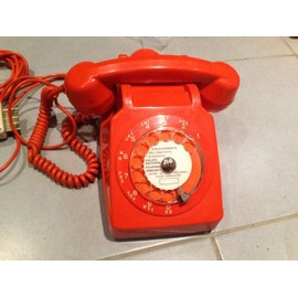 socotel s63 orange t l phone cadran pas cher priceminister rakuten. Black Bedroom Furniture Sets. Home Design Ideas