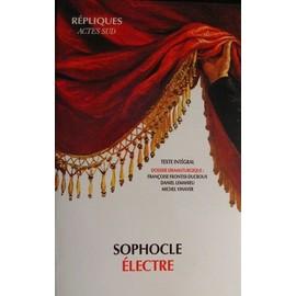 �lectre - Texte Int�gral de Sophocle