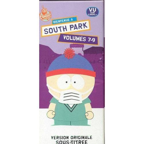 south park coffret n 3 volumes 7 8 9 vhs. Black Bedroom Furniture Sets. Home Design Ideas