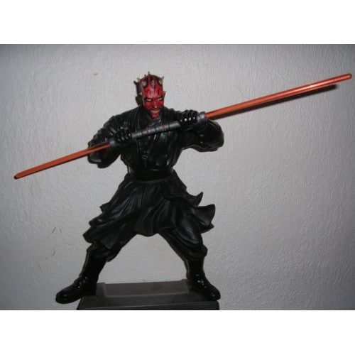 Star wars dark maul figurine neuf et d 39 occasion - Grande figurine star wars ...