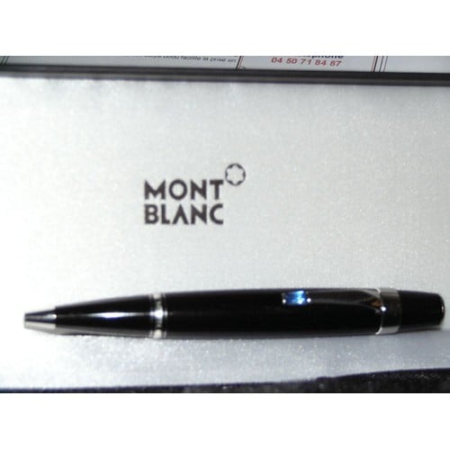 stylo bille mont blanc boheme noir