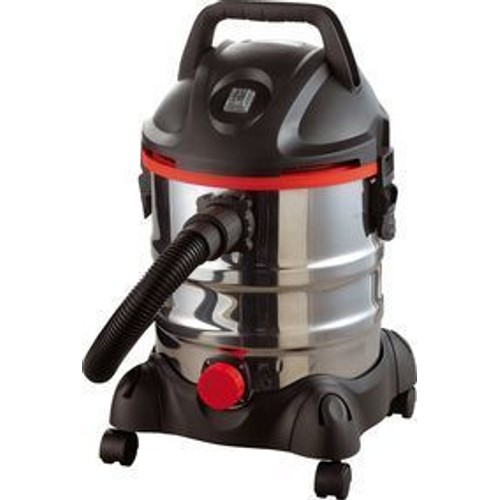 syclone aspirateur eau et poussi re sans sac 20 litres 1250 watts inox. Black Bedroom Furniture Sets. Home Design Ideas